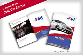 Company Profile Perusahaan Tour and Travel Desain Booklet