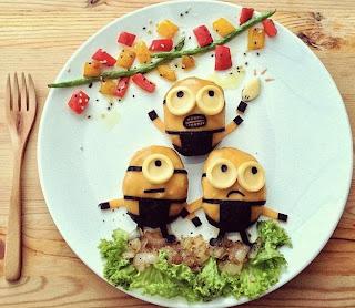 10 Bentuk Kreasi Makanan Super Menakjubkan di Dunia