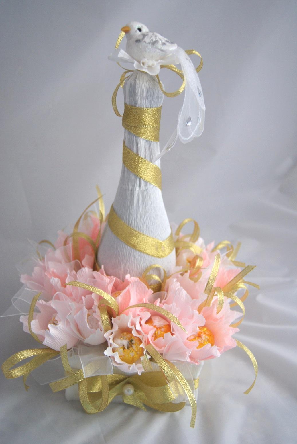 Оригинальные подарки из конфет на свадьбу своими руками