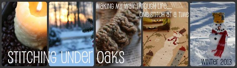 stitching under oaks