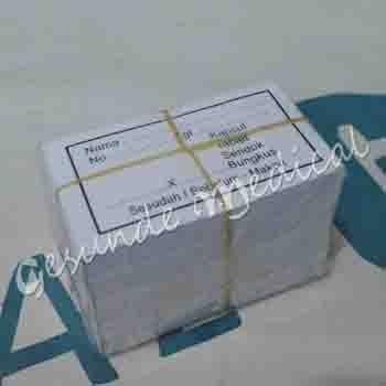 distributor kertas obat petunjuk kapsul