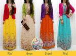 Maxi Sifon Bunga + Cardi SOLD OUT
