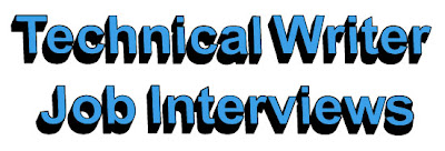 technical writer job interviews