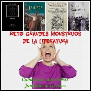Reto Grandes Monstruos de la Literatura.