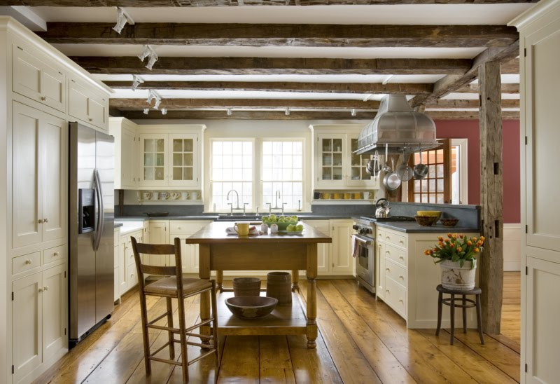 Fabulous colonial kitchen for today content in a cottage Kitchen design colonial home