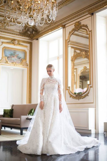 Nicki Hilton Got Married in a £50,000 Valentino Wedding Dress 2015