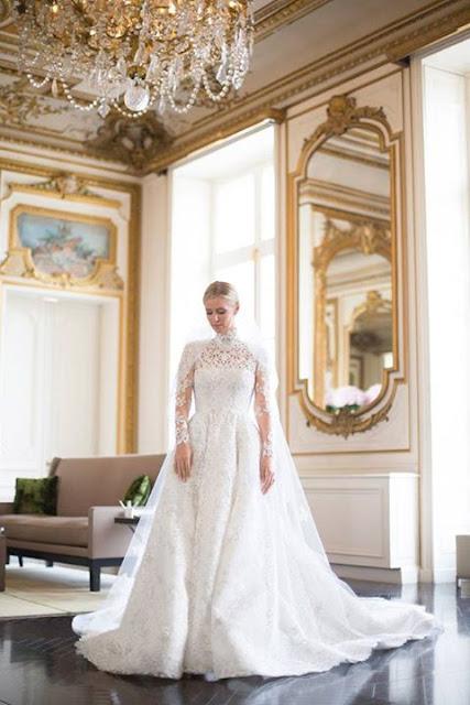 Nicki Hilton Got Married in a £50,000 Valentino Wedding Dress 2015