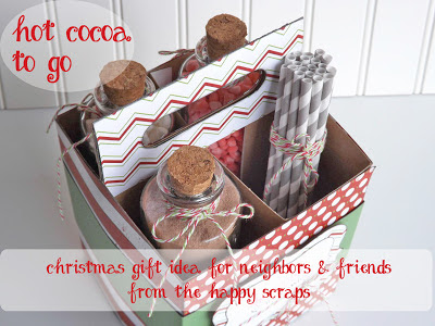 http://www.thehappyscraps.com/2012/12/hot-cocoa-christmas-neighbor-gift.html