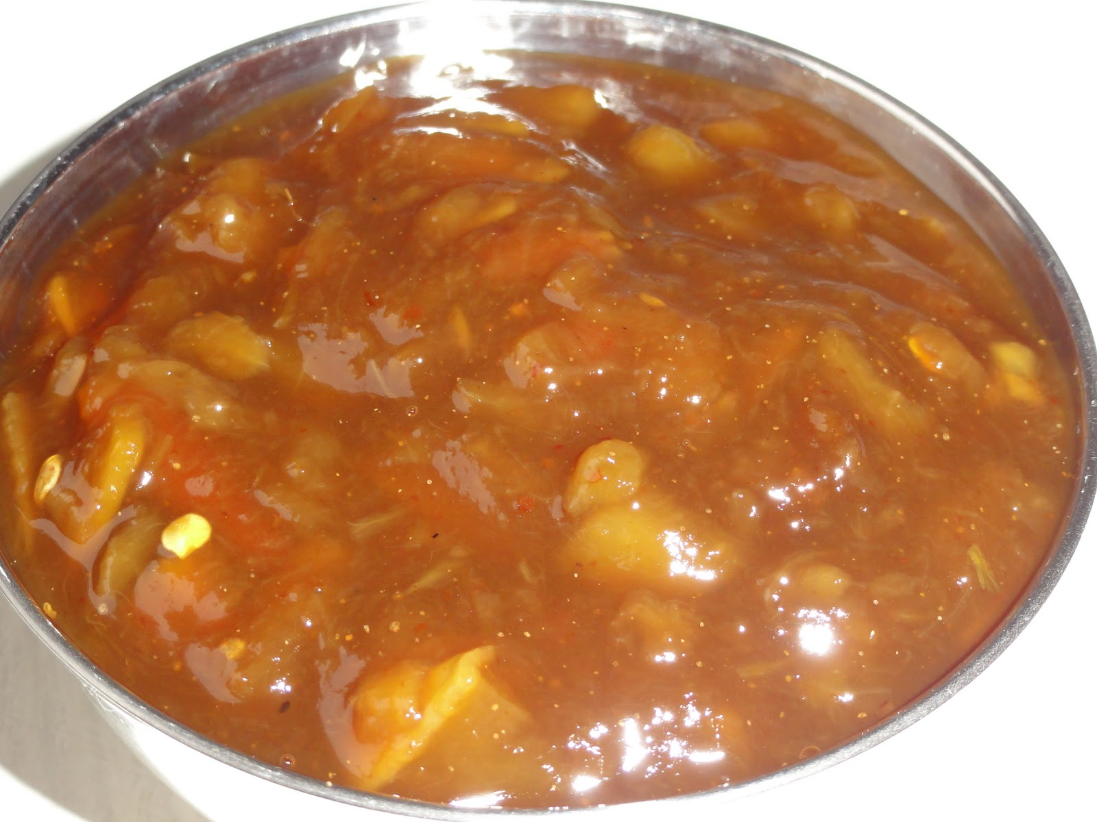 Rathai's Recipes: Mango chutney (mangai pachadi)