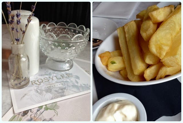 Rosylee Tea Rooms, Manchester - Chips