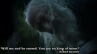 Karstark last words