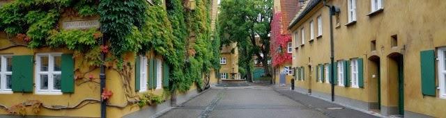 Аугсбургский Фуггерай – старейший в мире квартал социального жилья.