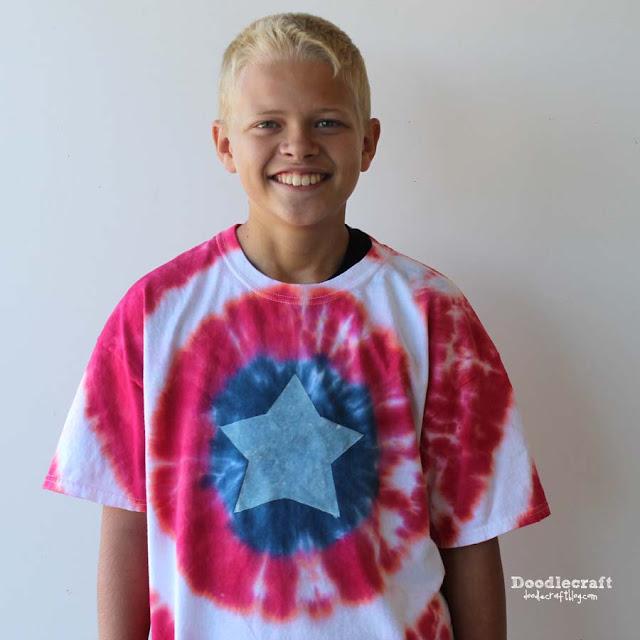 http://www.doodlecraftblog.com/2015/02/captain-america-patriotic-tie-dye-shirt.html