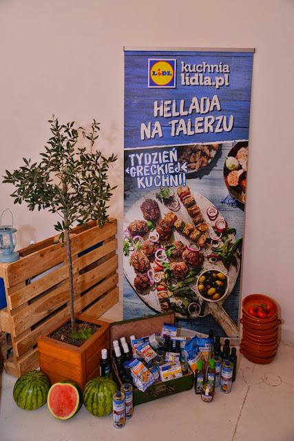 Hellada na talerzy, czyli warsztaty kuchni greckiej z Lidl