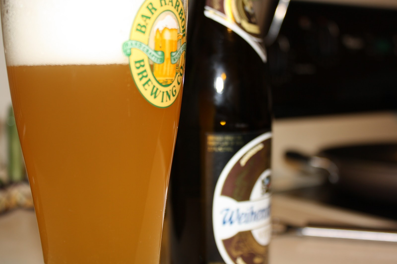 Close-up of Weihenstephaner Vitus