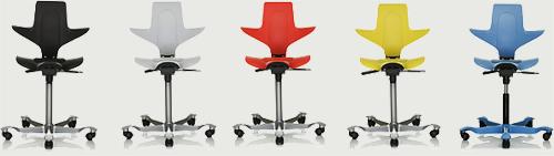 HÅG Capisco Puls Office chair colour
