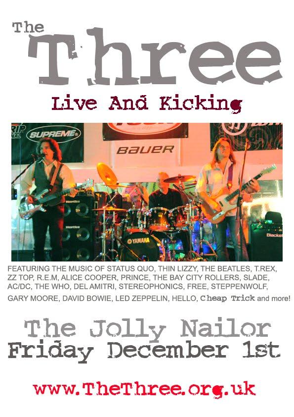 The Three. The Jolly Nailor. Atherton.