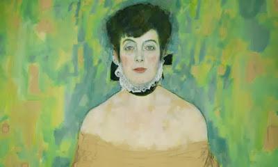 Gustav Klimt - portrait d'Amalie Zuckerkandl,1917-18.
