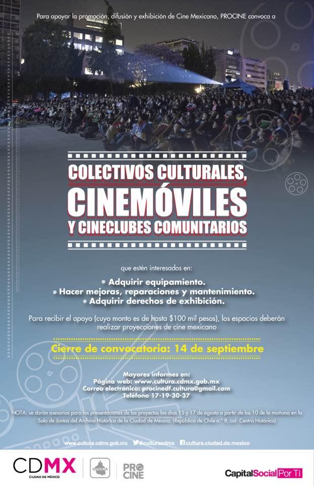 Atención !!! Colectivos culturales Cinemóviles Cineclubes comunitarios
