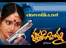 Watch All episodes of Puttadi Bomma Telugu Daily Serial