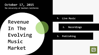 Click to View Cedar's October 2015 Music Industry Presentation at USC