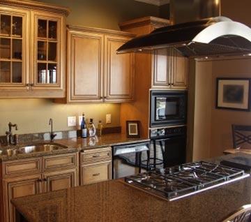 lindos gabinetes de cocina de bamb decoraciones de cocinas