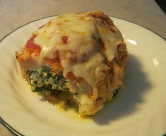 ... It: Skinnytaste.com's Chicken Rollatini with Spinach alla Parmigiana