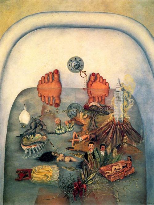 La habitaci n de van rose frida kahlo una surrealista por instinto - Pintura instinto ...