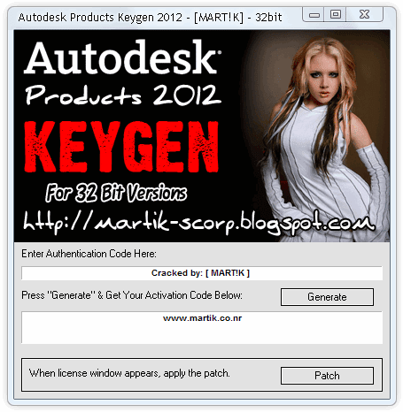Results 1 - 6 of 6 autocad architecture 2012 keygen download on
