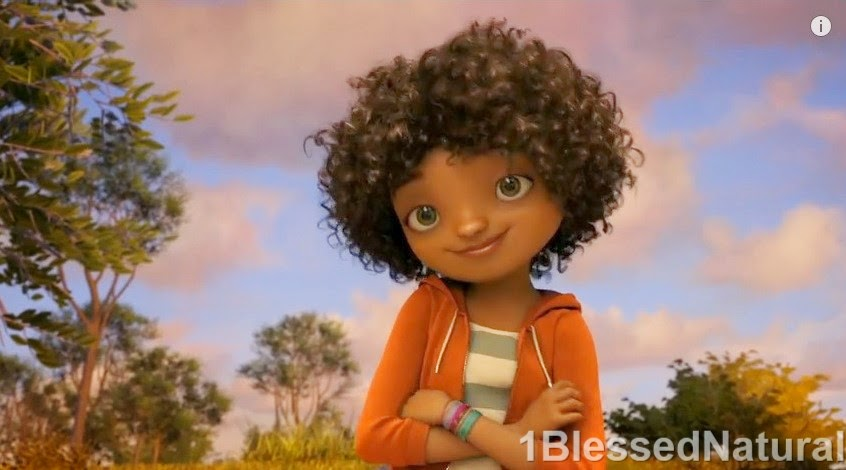 Dreamworks Introduces Natural Hair Character In Home Movie