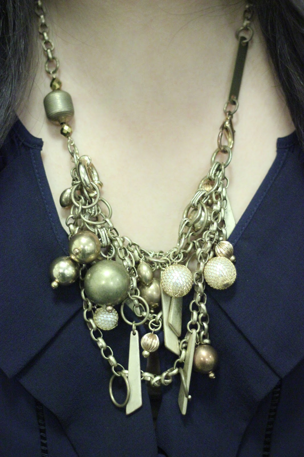 Gold Subversive for Target Baubles Necklace
