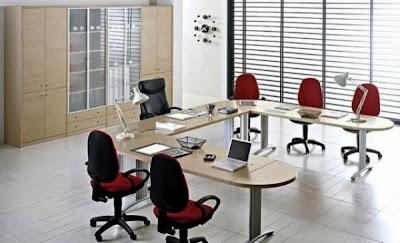desain meja kantor minimalis 5