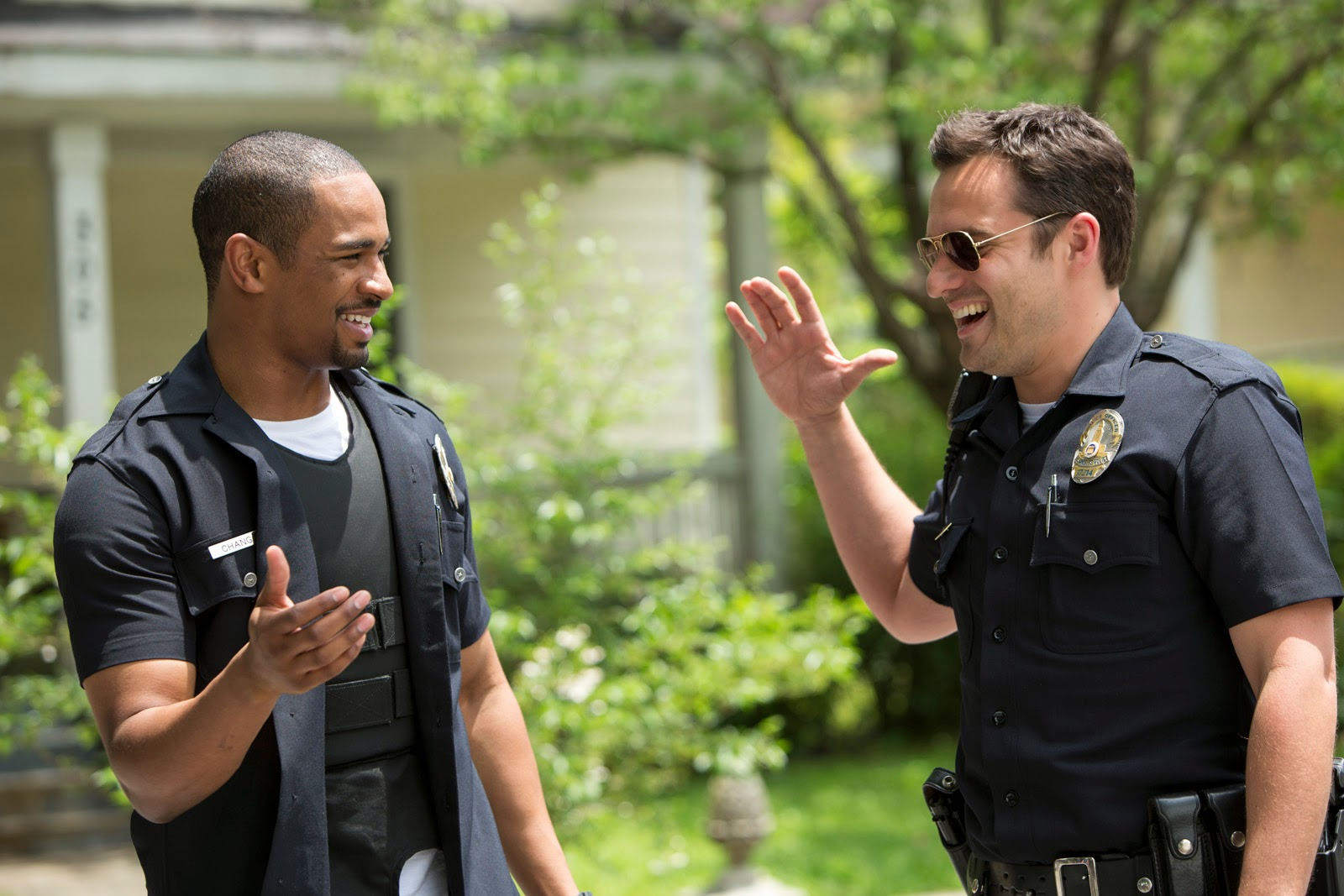 """Let's Be Cops"" trails"