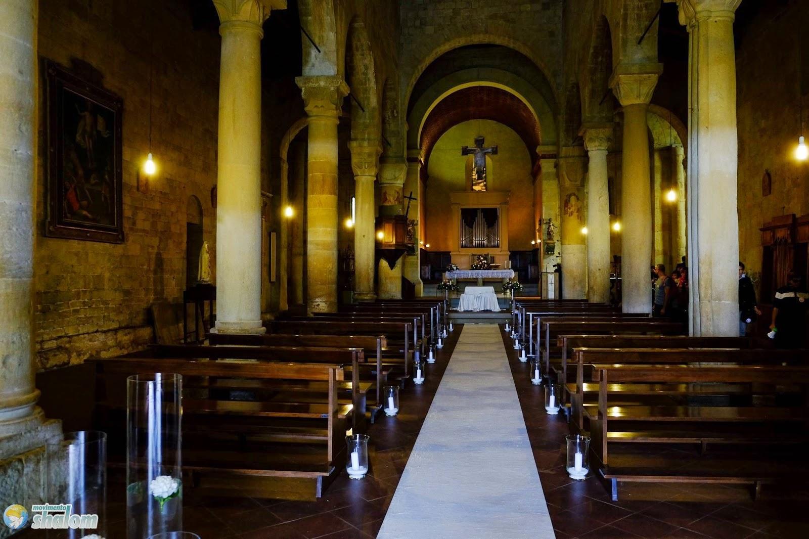 gambassi pieve di santa maria a chianni