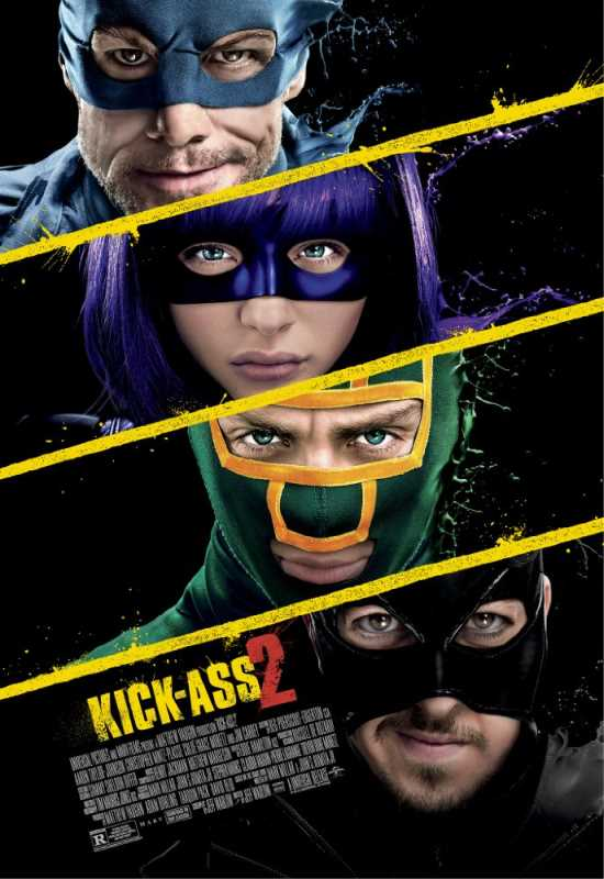 Kick Ass 2013 720p Esub BluRay  Dual Audio English Hindi GOPISAHI
