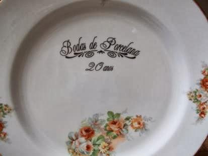 Presentes em porcelana para os pais