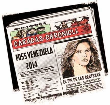 Front pages - Miss Venezuela 2014