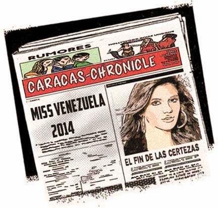 Front pages - Miss Venezuela 2014