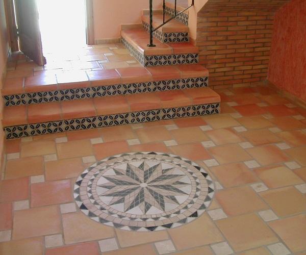 Terra antiqva cocina azulejos zaragoza gres y ceramica - Suelos rusticos para interior ...