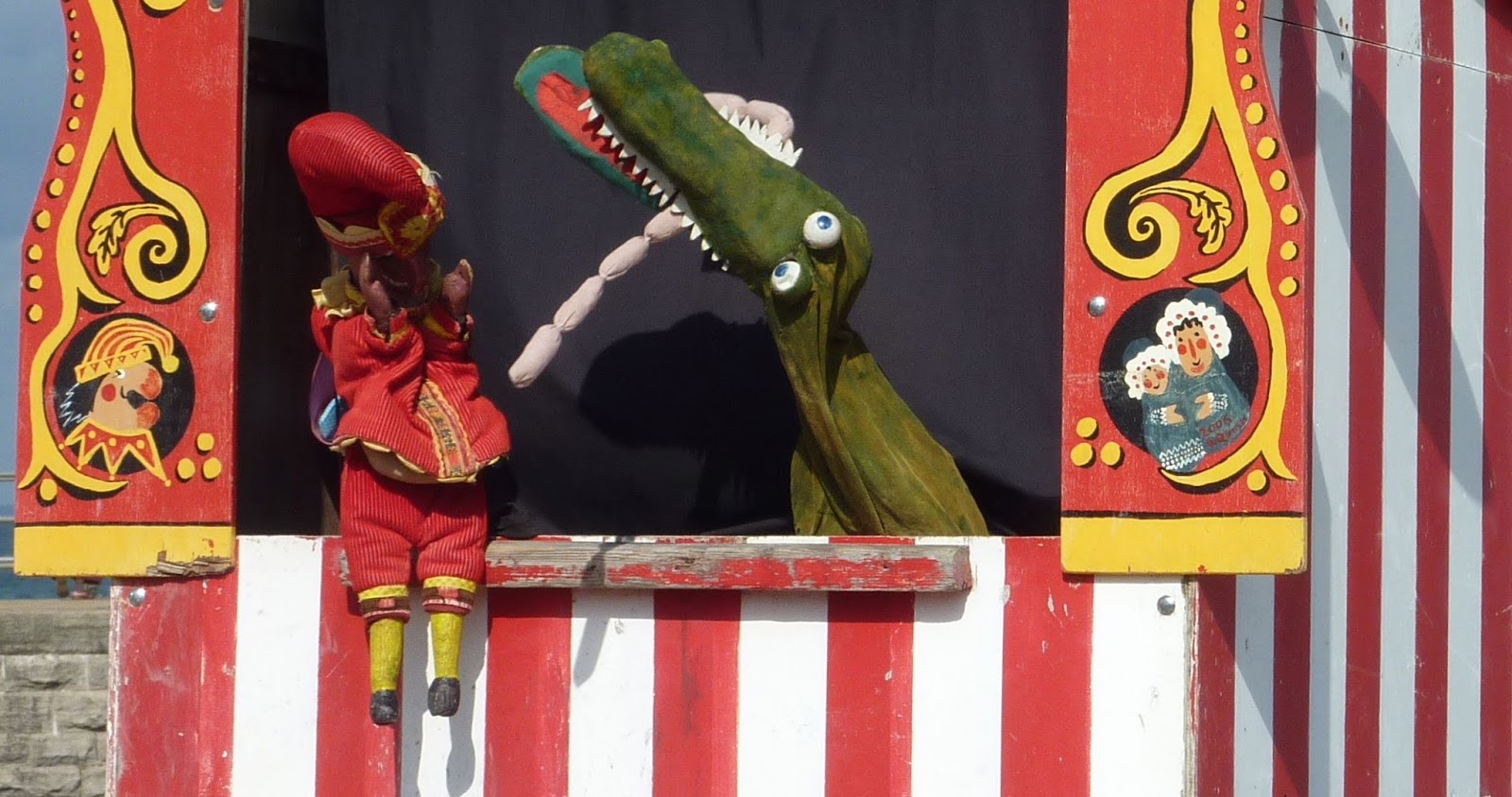 Image result for punch and judy sausages