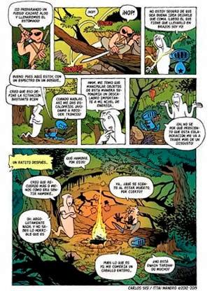 Paginas de Midnight, de Carlos Sisi e Ittai Manero