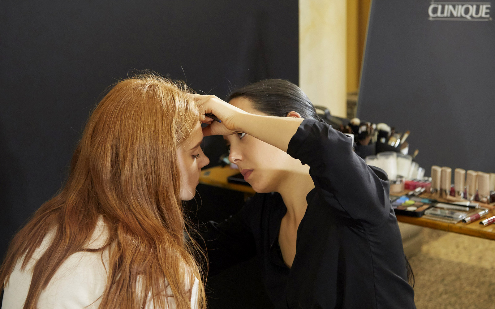 MFW, ss16, Milan Fashion Week, Clinique, backstage, Beauty & Care, beauty, jabe, Cristiano Burani, makeup,Culture & trend