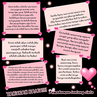 permahaman+tentang+cinta Kumpulan Gambar Kata kata Romantis, Unik, Gokil