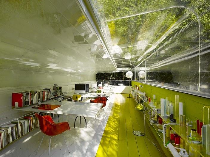 Oficina de cristal selgascano madrid arquitectura - Oficinas linea directa madrid ...