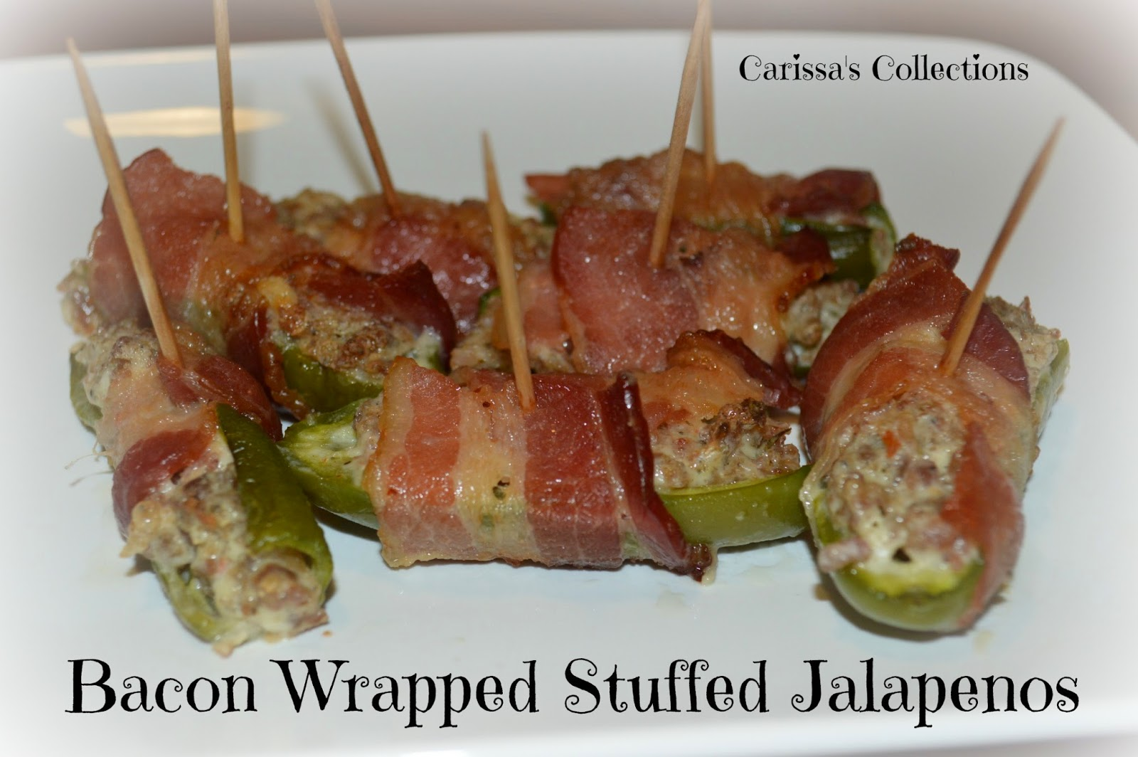 Carissa S Collections Bacon Wrapped Stuffed Jalape 241 Os