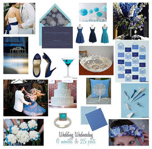 Wedding Wednesdays A Royal Blue Wedding