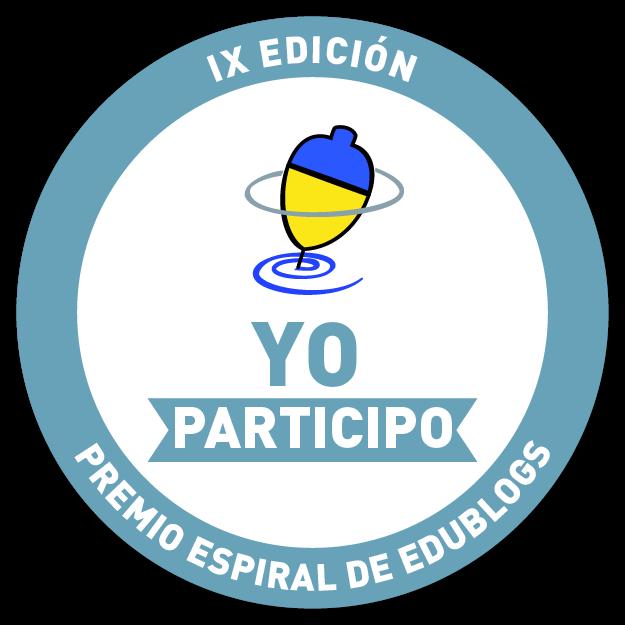 Nuestra candidatura ha sido aceptada en el IX  Premio Espiral Edublog