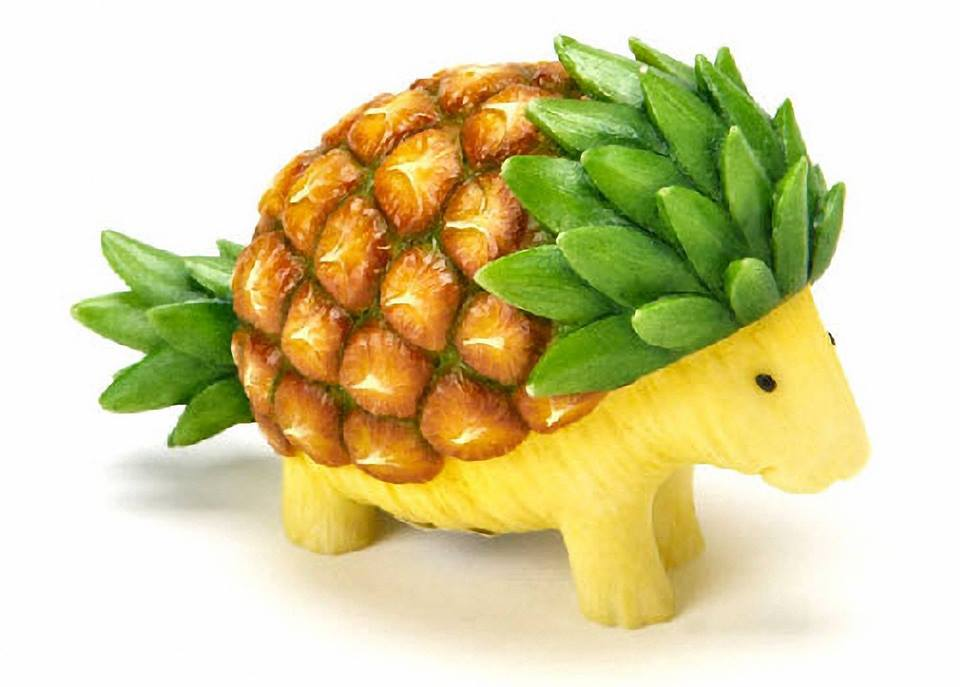 Fruit Carving Arts 7