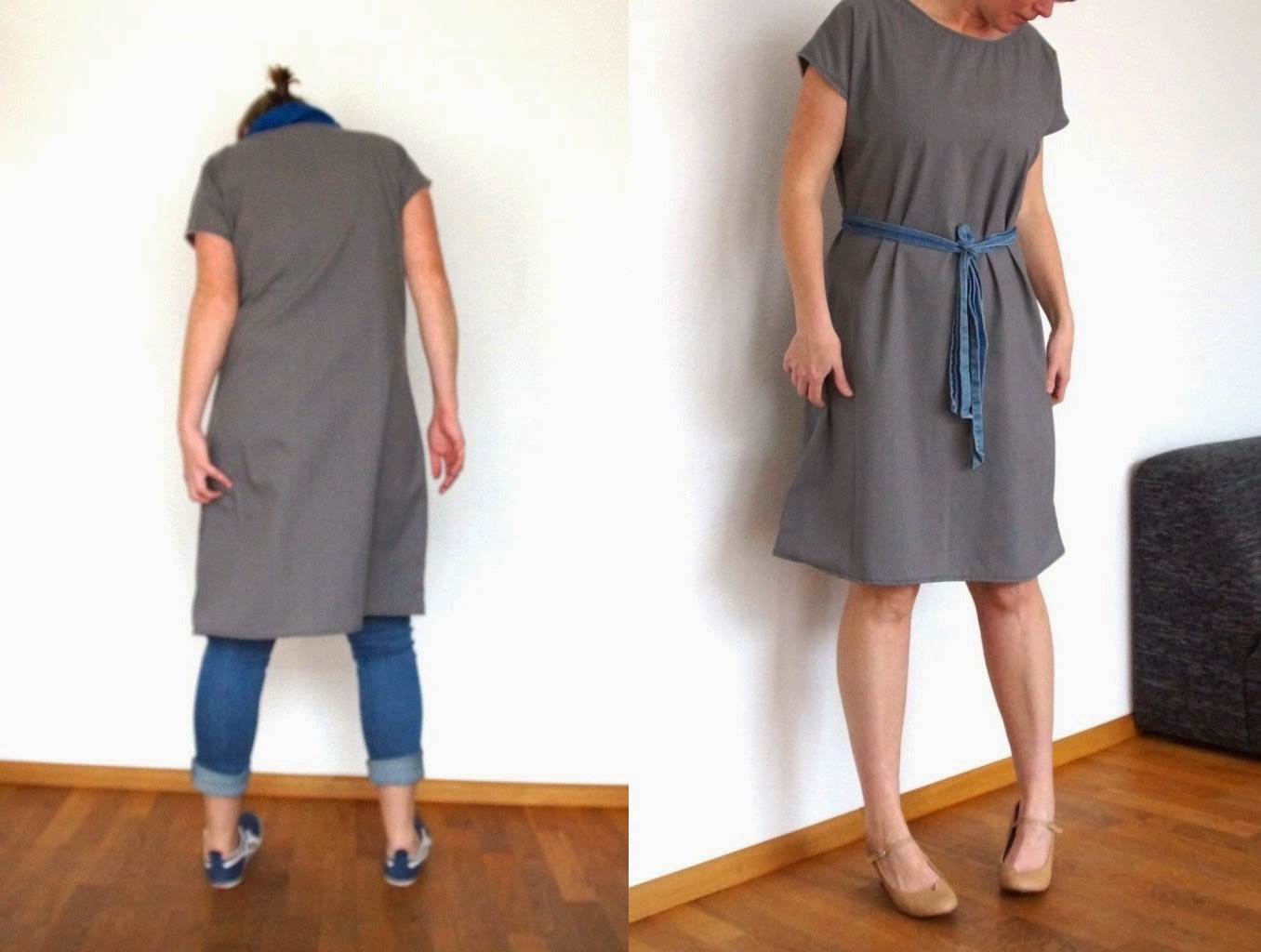 staple dress, two ways - huisje boompje boefjes
