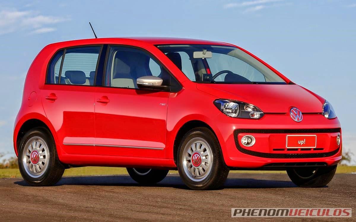 Com o aumento do IPI, Volkswagen divulga preços do Up!